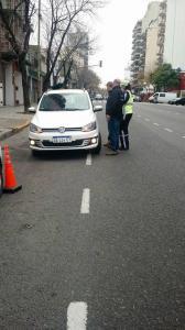 Operativo en el barrio porteño de Constitución contra Uber (1)