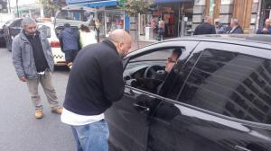 Operativo en el barrio porteño de Constitución contra Uber (3)